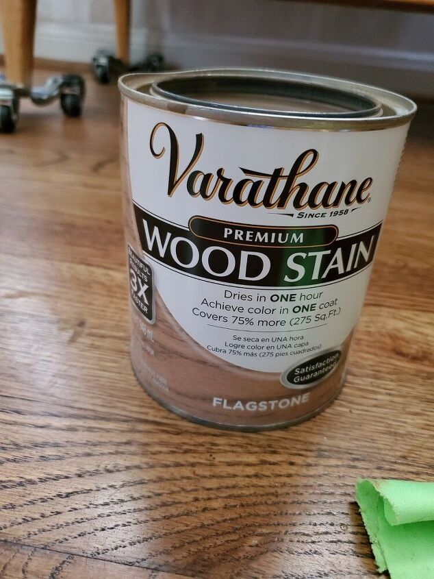update your dresser by using different colored stains