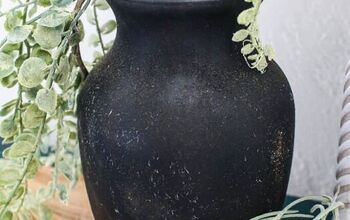 DIY Vintage Pottery Made From Upcycled Vase