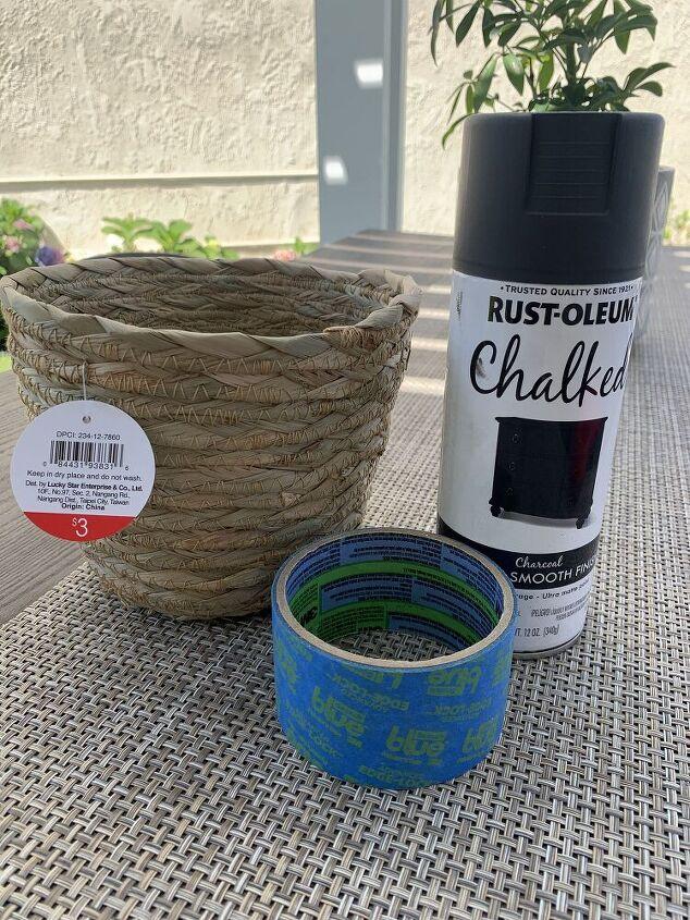 free to fab basket planter