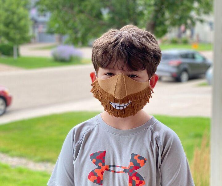diy funny face masks