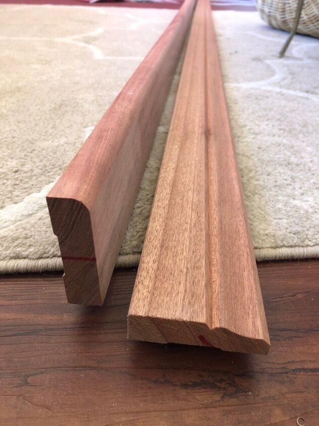 Timber for the shelves