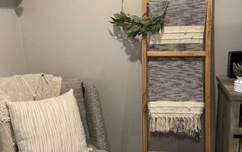 DIY Blanket Ladder for $12