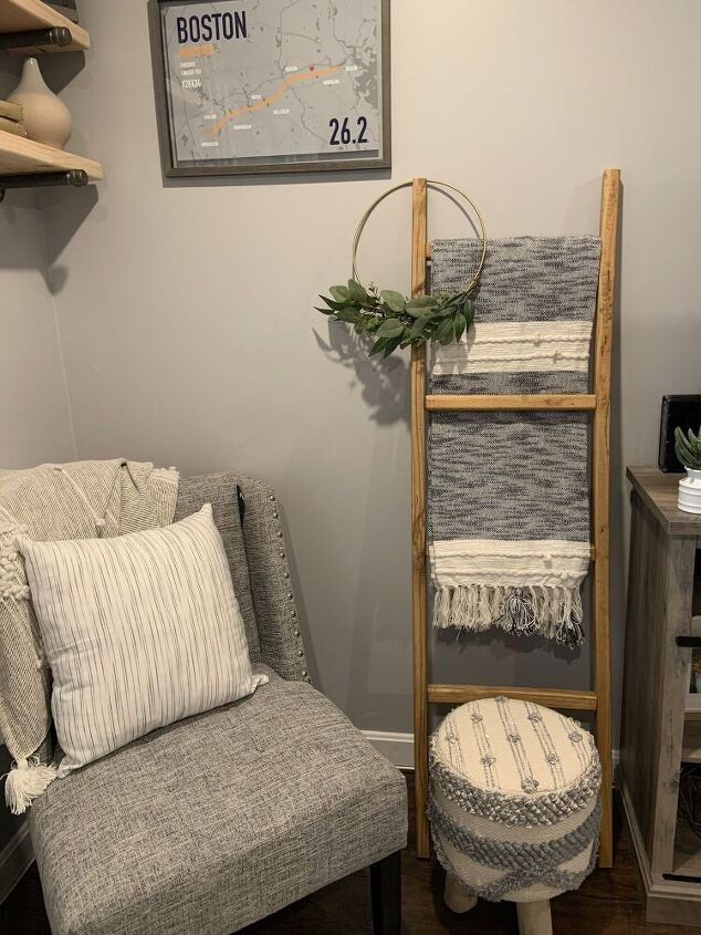 diy blanket ladder for 12