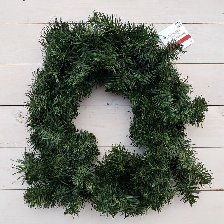 christmas in july how to upcycle a faux pine wreath