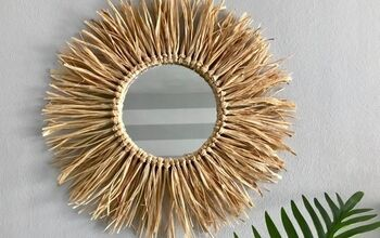 Raffia Mirror DIY | Amazing Boho Decor