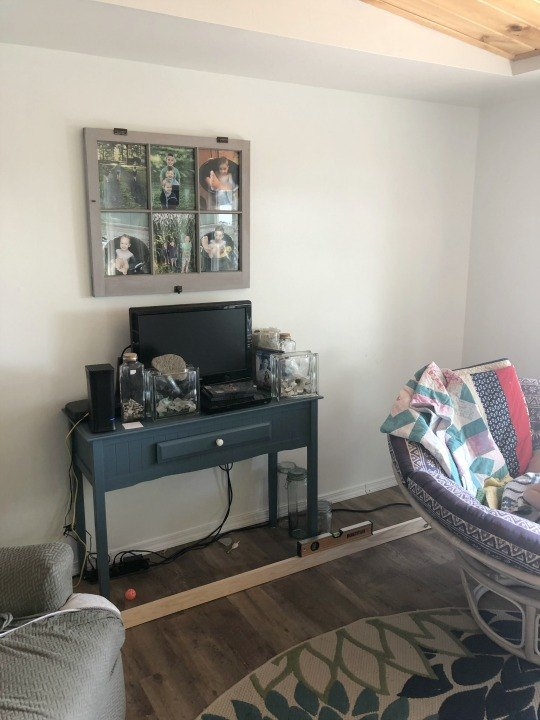 using stock upper cabinets for built ins