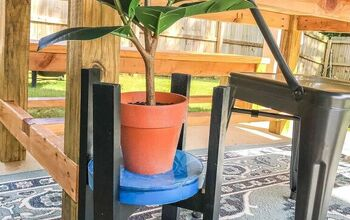 DIY Resin Plant Stand