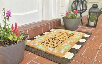 DIY Summer Doormat