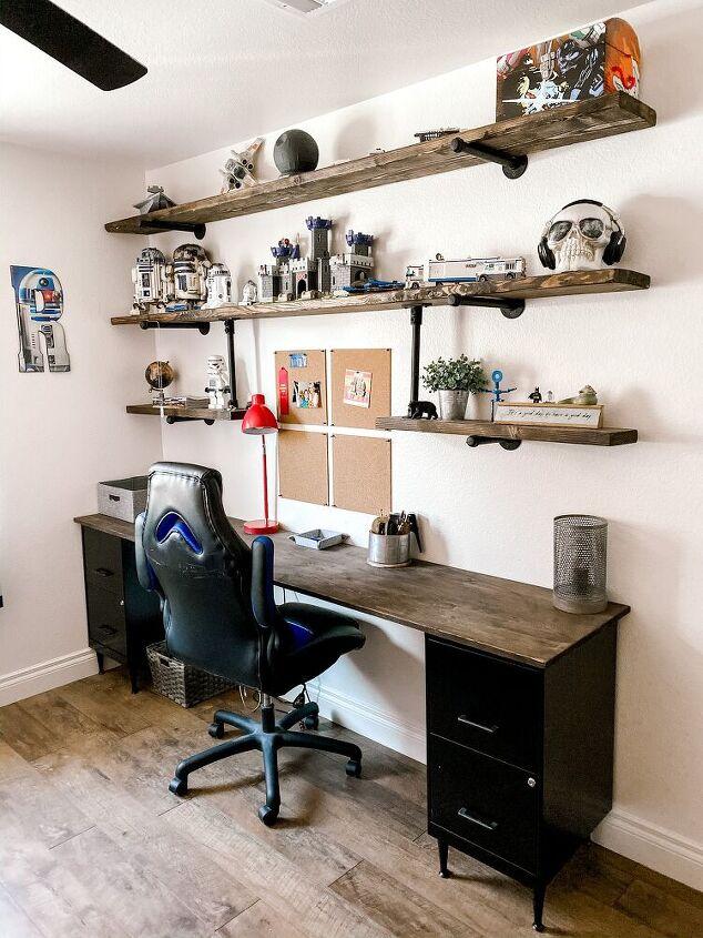 teen diy industrial desk