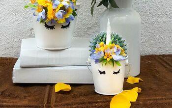DIY The Cutest Unicorn Buckets