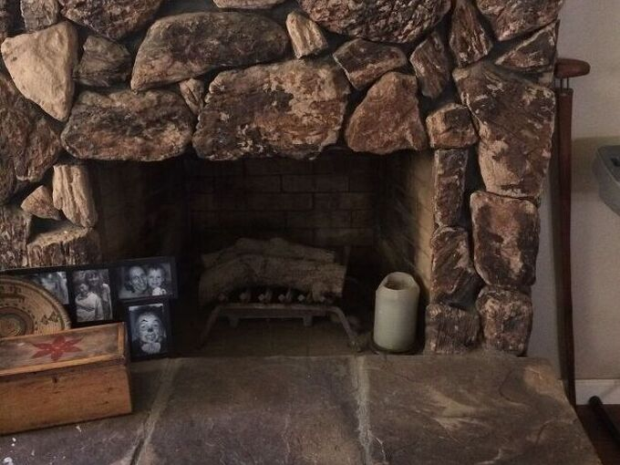 q how do i update this fireplace cheaply