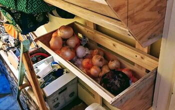 Taters & Onions Storage Wall Bins