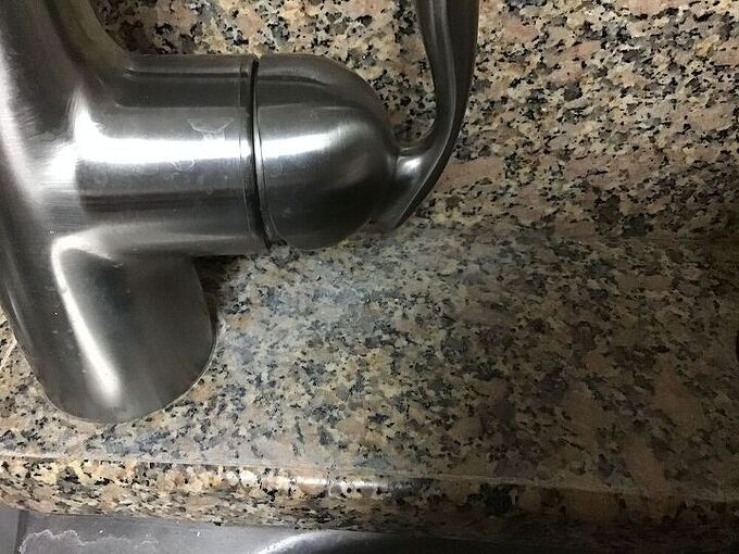 q how can i restore white marks made from mrclean sponge on my granite