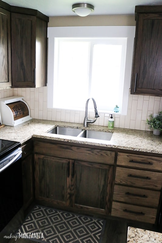 how to install an undermount sink