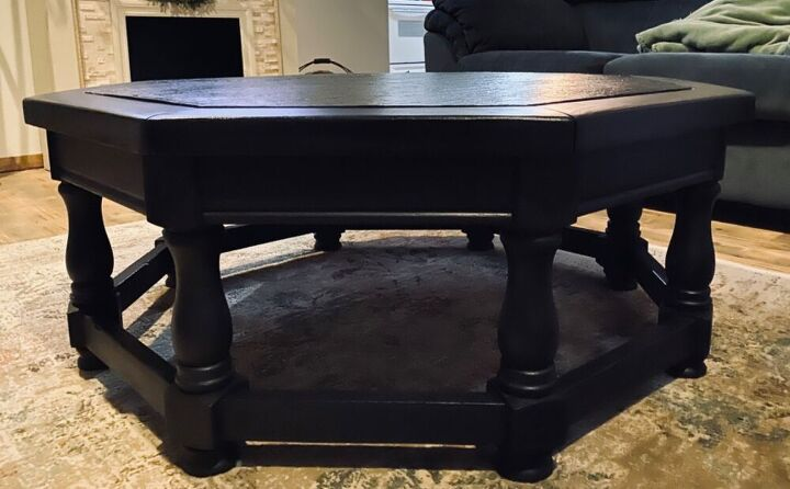 the rebirth of a vintage coffee table