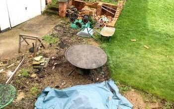 Backyard Makeover - How to Build a Brick Patio Circle
