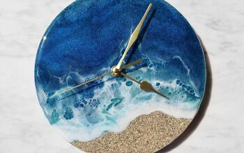 Resin Ocean and Miami Sand Clock