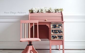 Vintage Children's Desk Makeover