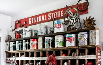 Expand Creative Space With Your Own General Store Cubby & Paint Shelf!
