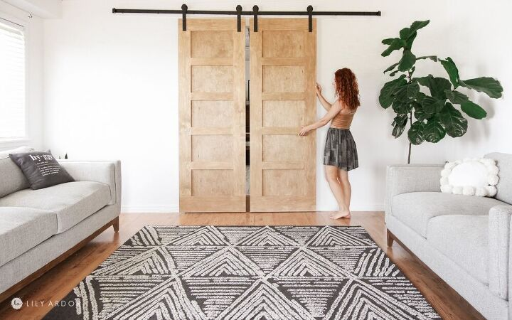 how we made our diy barn doors