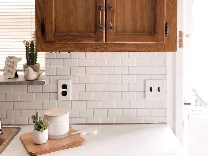 diy kitchen countertops backsplash