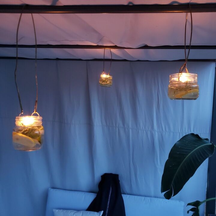 mason jar ambiance mosquito repellent, Enjoy Outdoors Mosquitto Free