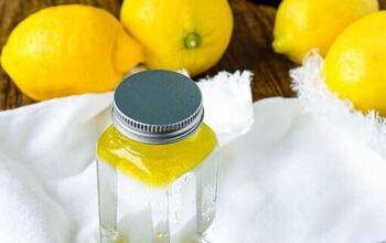 Lemon Juice and Olive Oil Wood Polish