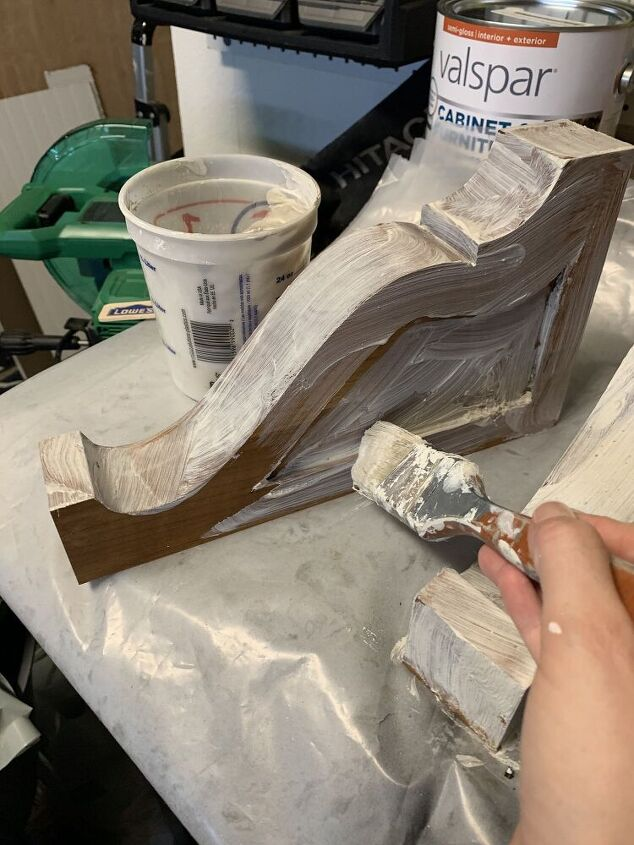 chippy paint method