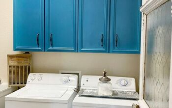 Add Color to Your Laundry Room for a Quick and Easy Makeover