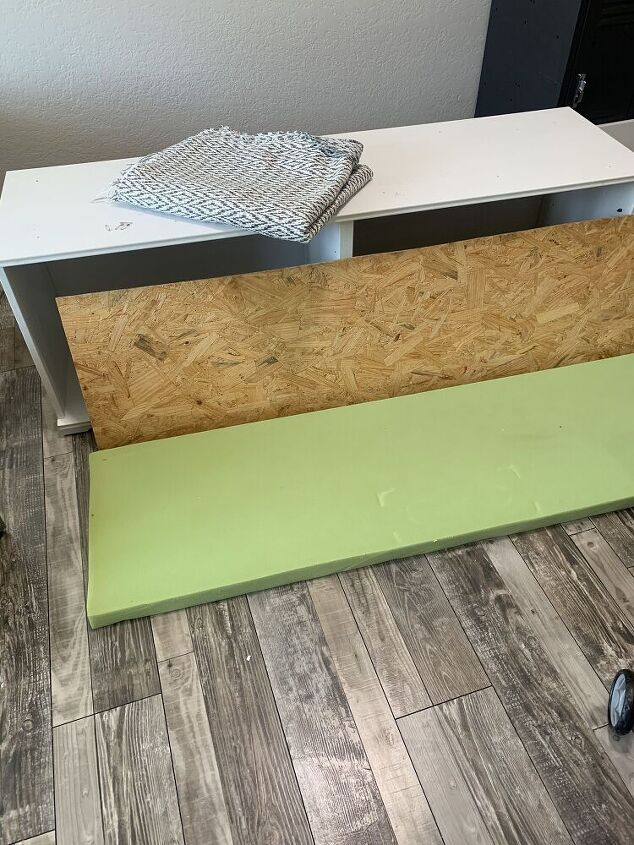 creating a storage bench