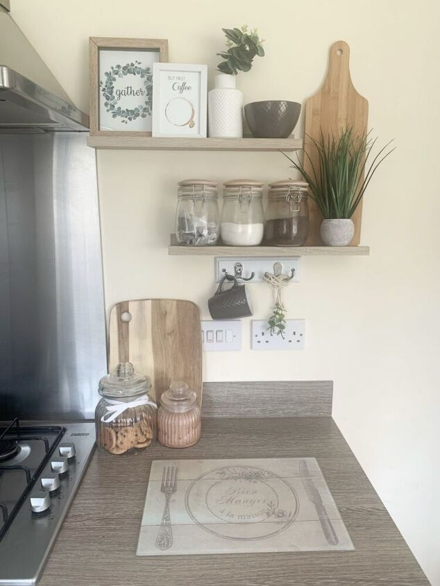create a coffee corner with mug holder