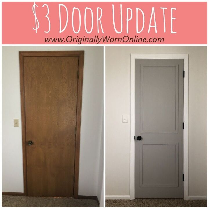 how to update a hollow core door for 3
