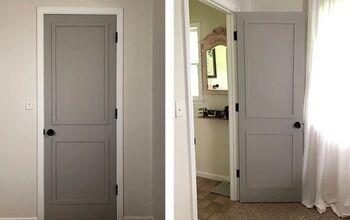 How To Update A Hollow Core Door For $3!