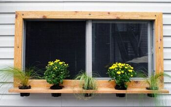 DIY Floating Shelf Planters