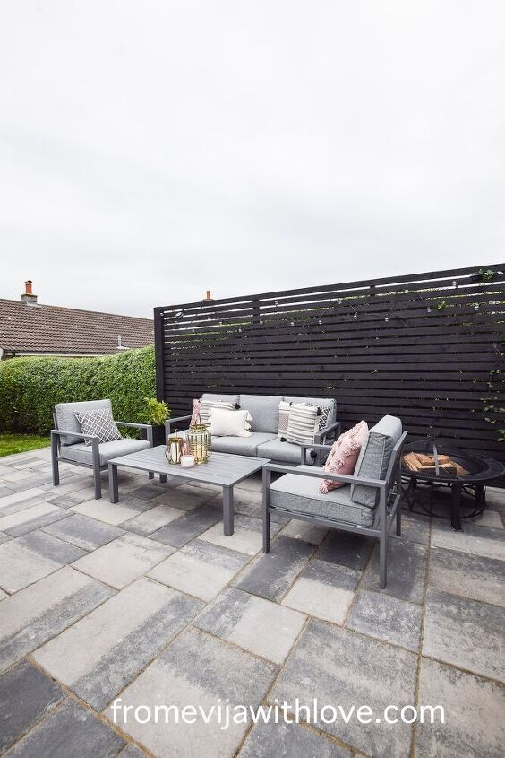 amazing patio area makeover on a budget