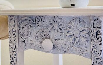Furniture Makeover With Decor Moulds And Clay!