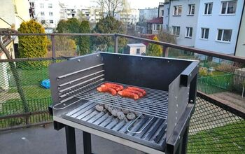 How I've Turned an Old Steel Desk Into Nice Barbecue Grill