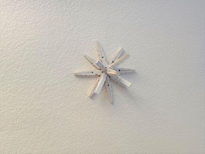diy 3d clothespin stars