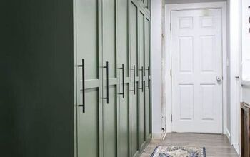 DIY Mudroom Lockers With Doors
