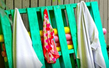 Create a Pool Storage Pallet for Pennies on the Dollar