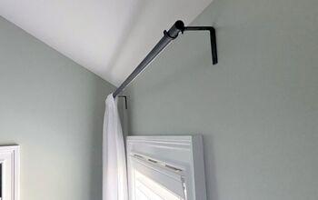 DIY $5 Curtain Rod