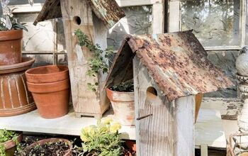 How To Build A Rustic Birdhouse