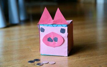 Tissue Box Piggy Bank