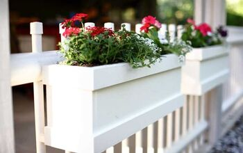 How to Build a DIY Flower Planter Box