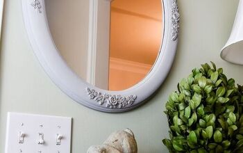 How to Update a Gold Mirror With Chalk Paint