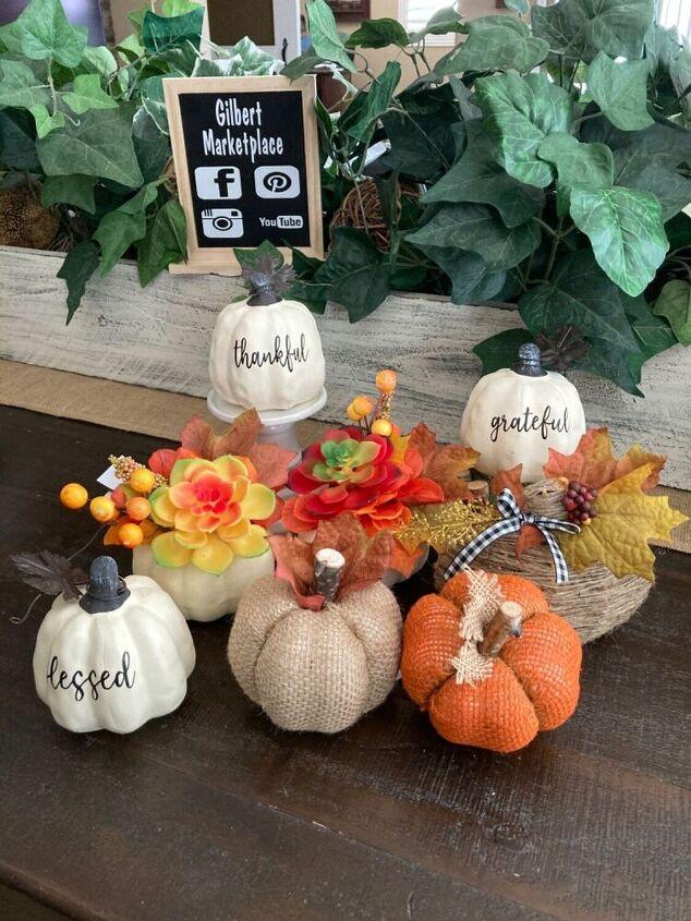 dollar store pumpkin upscaled