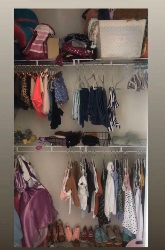 closet organization refresh