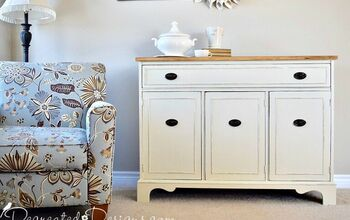 How to Transform a Dirty, Dingy, Vintage Buffet