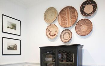 How To Style and Hang Baskets on Your Wall