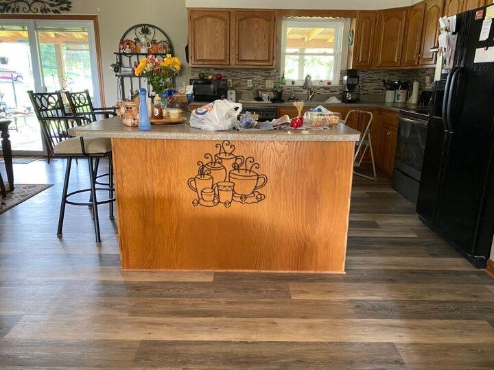 q need help with kitchen island update